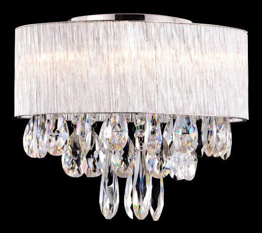 "16"" MINI GLASS RODS FLUSH MOUNT :: FLUSH & SEMI-FLUSH FIXTURES :: Ceiling lights Toronto, Bath and vanity lighting, Chandelier lighting, Outdoor lighting and kitchen lights :: Union"