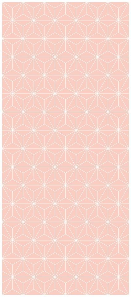 Ikea Brakig Bräkig Tapete Geometrisch Rosa Rose Ferm Living Interior