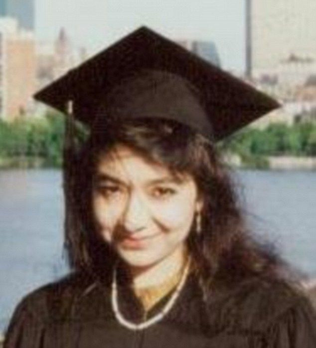 Lady Al Qeada: Aafia Siddiqui is currently serving 86 years in a Texas jail after being arrested with plans for a 'mass casualty attack' in the US, including infecting people with Ebola and a dirty bomb. She was named by Foley's captors on a 'laundry list' as the person they wanted in a prisoner swap.