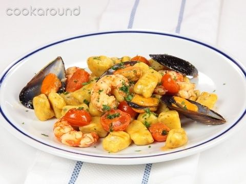 Gnocchi al branzino con cozze e gamberi: le Vostre ricette | Cookaround