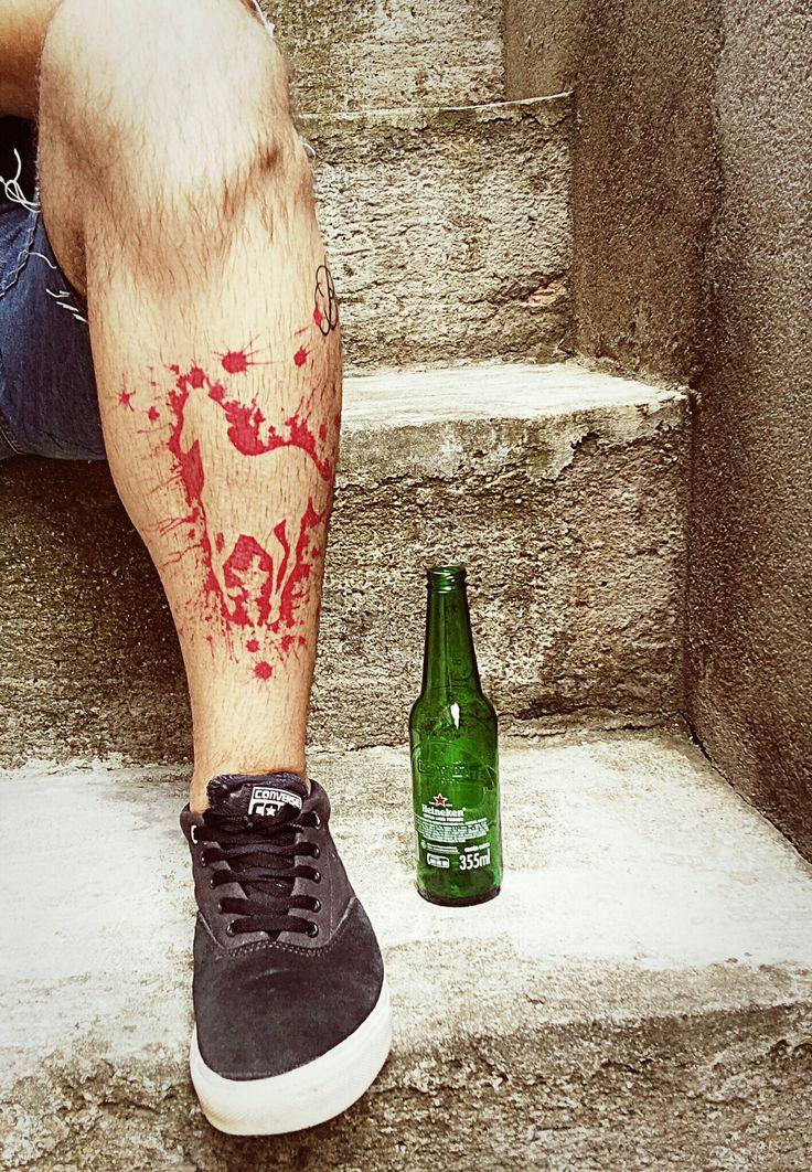 My Deftones White Pony Tattoo - by Magda Stella (Tradicional Tattoo Studio - Diadema/Brazil).
