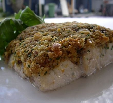 Macadamia Barramundi Fillets recipe -- YUM.