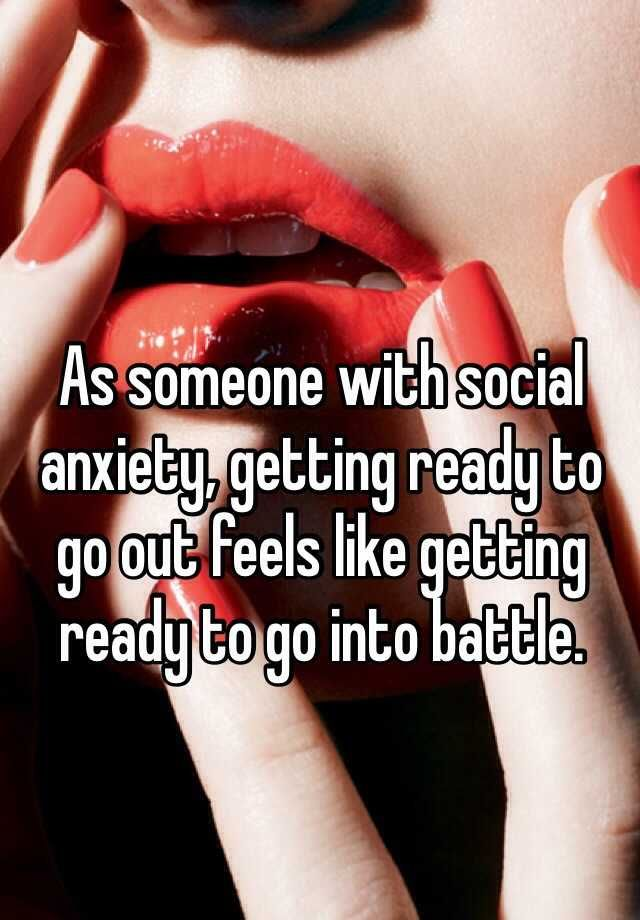 Whisper App. Confessions from people on what it's like to have social anxiety.