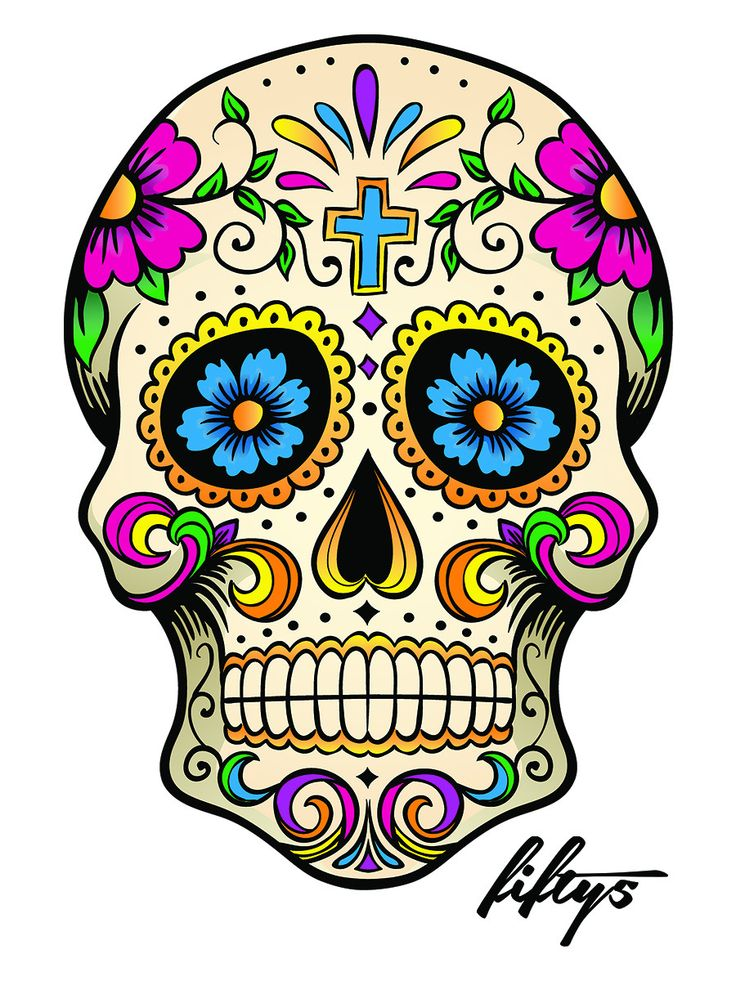 17 best images about day of the dead sugar skulls on pinterest the dead rockabilly pin up and - Sugar skull images pinterest ...