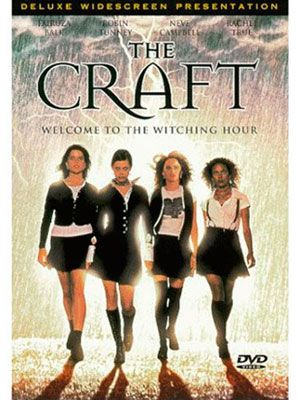 The Craft (1996) - Totally cheesy, not very accurate on the witchcraft front but fun and sexy film for its day