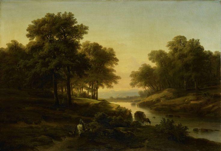 Landschap, Alexandre Calame, 1830 - 1845
