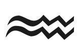 aquarius symbol tattoo @sydneysantiago