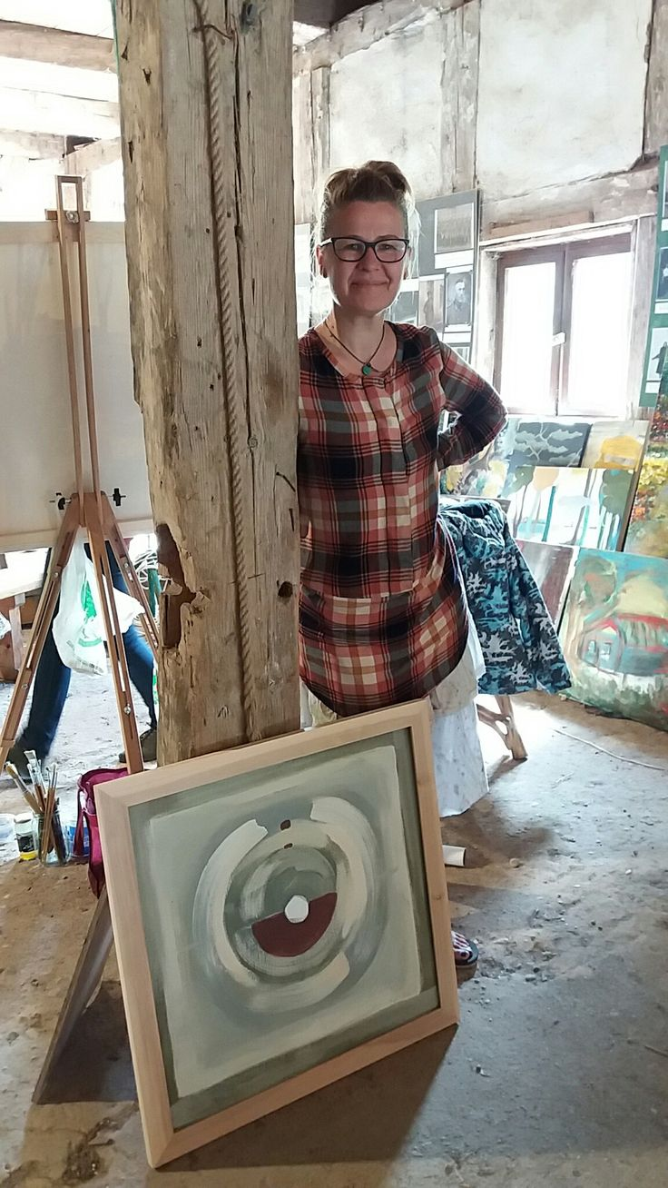 Joanna Golon Antitlle Acrylic  80x80