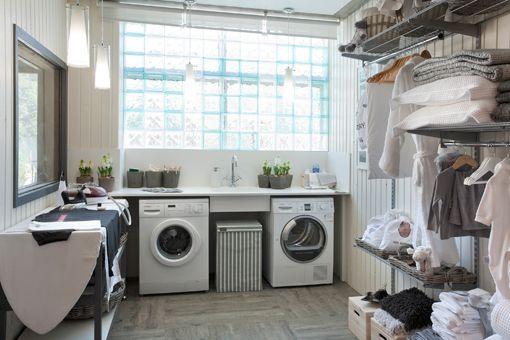 Cuarto de plancha de bauhaus en casa decor cuarto de for Cuartos lavaderos
