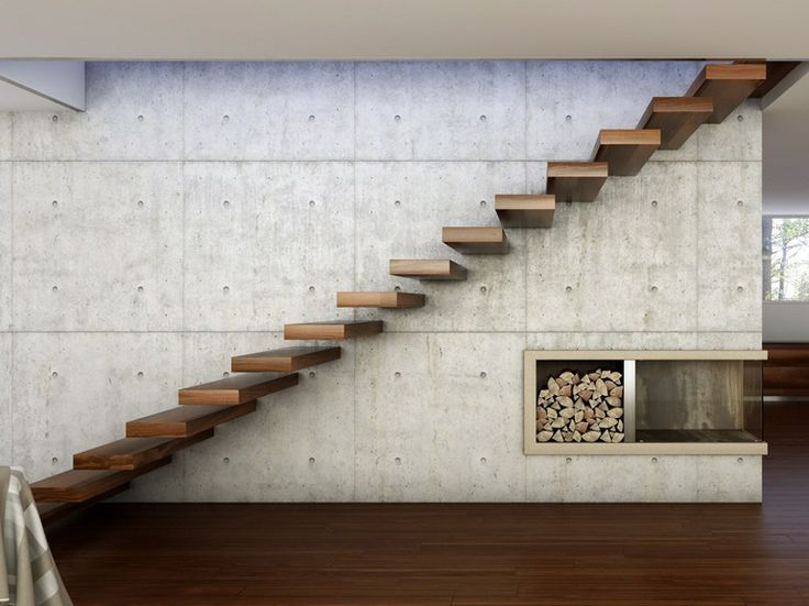 WOODEN CANTILEVERED STAIRCASE 800 | CANTILEVERED STAIRCASE | INTERBAU SUEDTIROL TREPPEN