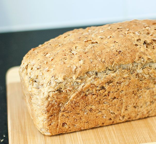 Sprouted Wheat Bread with Seeds in the Thermomix