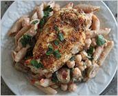 Dreamfields Pasta's Zatar Spiced Chicken and Pasta Salad