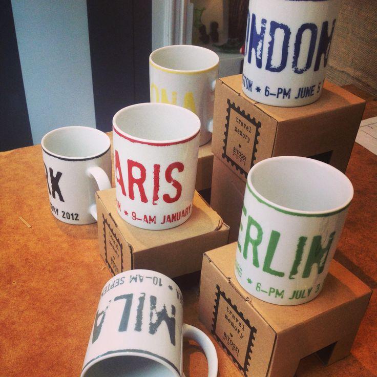 davvero fantastiche le mug di Bitossi per viaggiare con la fantasia...