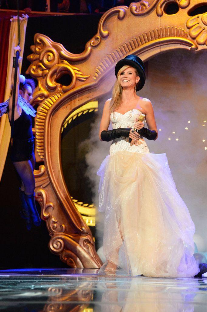 Heidi Klum - MTV EMAs 2012