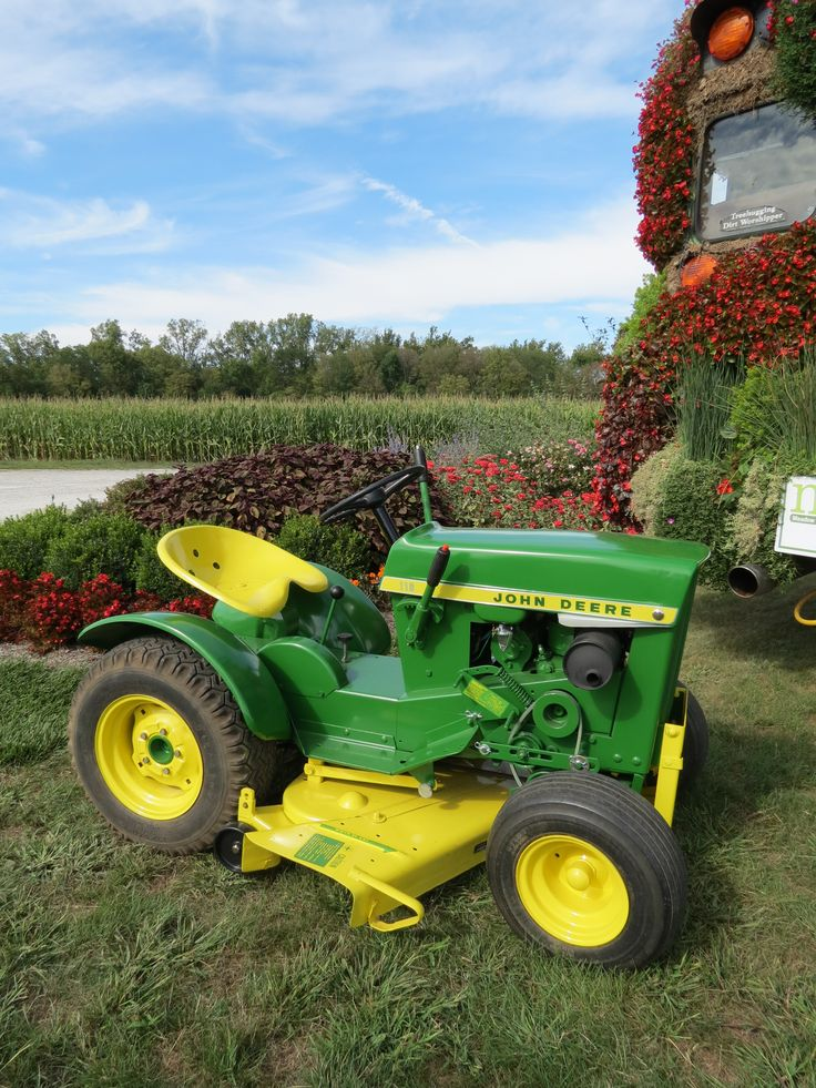 Small Garden Tractors : Best images about john deere garden tractors on