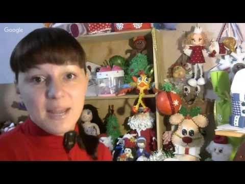 16 декабря Анна Грачева Новогодняя конфетница из фоамиарана - YouTube