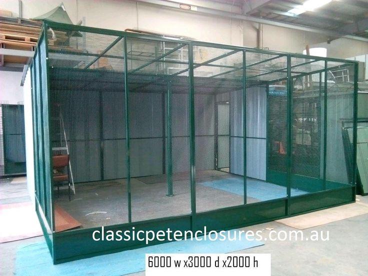 We Specialise in Custom Made Pet Enclosures. We Ship Aust Wide. Over 30yrs Experience. classicpetenclosures.com.au