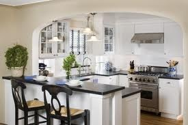 Soapstone counter with eat in kitchen
