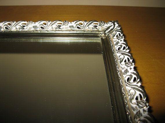 GORGEOUS Mid century vanity mirror/ dresser tray by oakiesclaptrap, $15.45