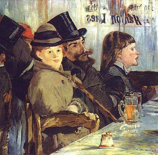 Эдуард Мане. «В кафе». 1878 г.