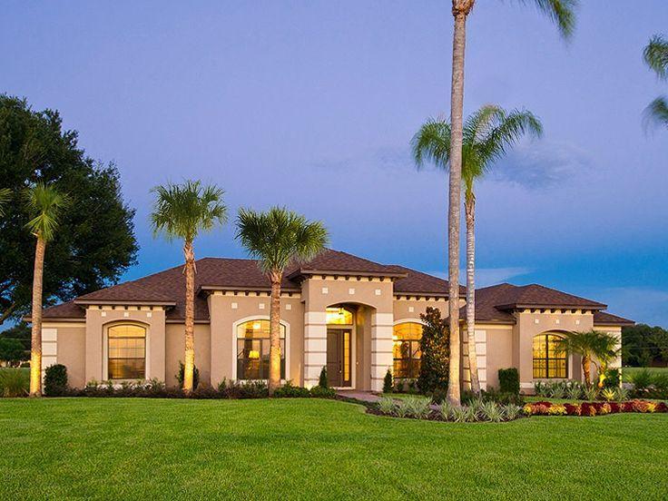 Florida Mediterranean House Exterior