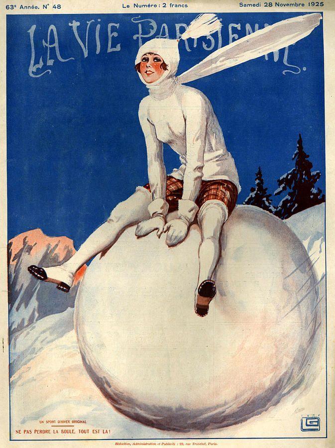 hoodoothatvoodoo:  Illustration by George Leonnec For La Vie Parisienne November 1925