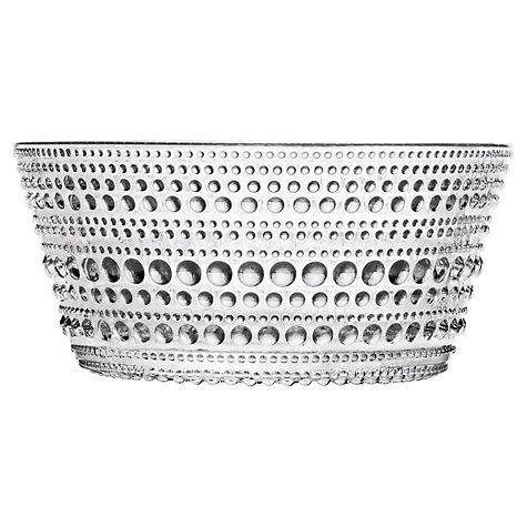 Buy Iittala Kastehelmi Glass Bowl Online at johnlewis.com