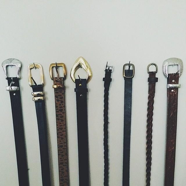 The lineup, via UOUpstate. #belts