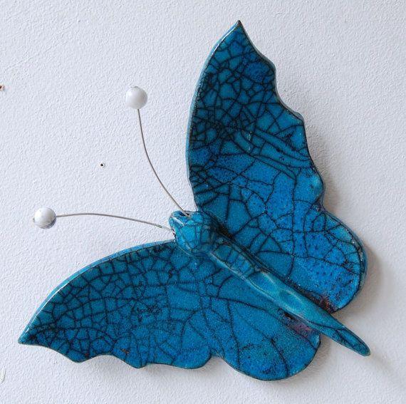 Raku Butterfly by MartinONeillceramics on Etsy, £14.50 ...