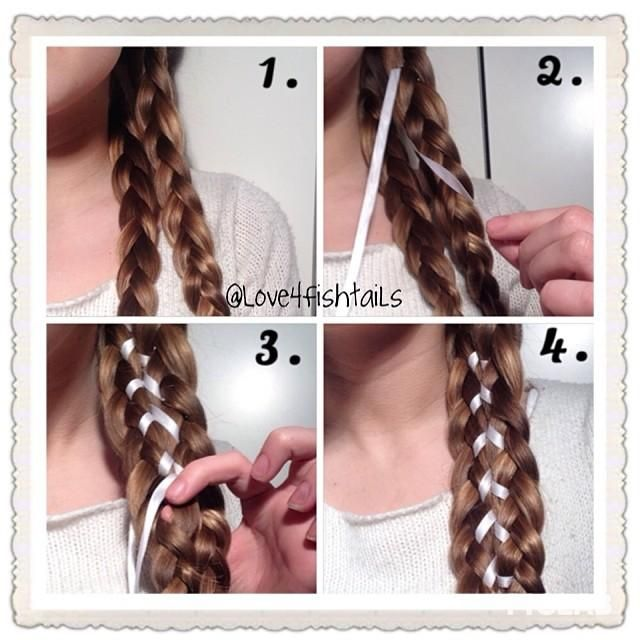 Corset Ribbon Braid - Hairstyles How To
