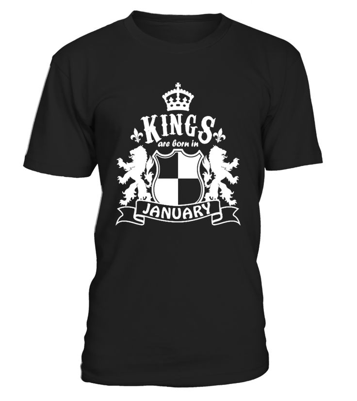 CHECK OUT OTHER AWESOME DESIGNS HERE!  Shop for Birthday Gift Guide shirts, hoodies and gifts. Find Birthday Gift Guide designs printed with care on top quality garments.     Best birthday t-shirt for all Men born in January, Wear this and receive compliments. Best to gift your love ones, Kings Are Born In January Men T-shirt, January, Born in January, Birthday Gift.  TIP: If you buy 2 or more (hint: make a gift for someone or team up) you'll save quite a lot on shipping.           ...