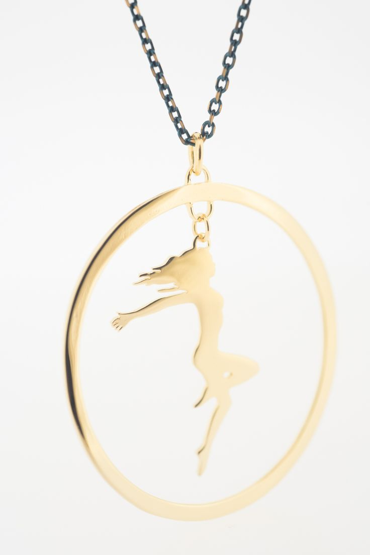YOU AND THE CIRCLE OF LIFE By THE BRITELINE - The Signature Pendant in Gold plated bronze.