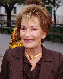 Judith Sheindlin, better known as Judge Judy (born October 21, 1942), is an American lawyer, judge, television personality, and author. Since 1996, Sheindlin has presided over her own successful Daytime Emmy Award winning reality courtroom series named after her, Judge Judy.[1]  Sheindlin passed the New York bar examination in 1965, and became a prosecutor in the family court system.
