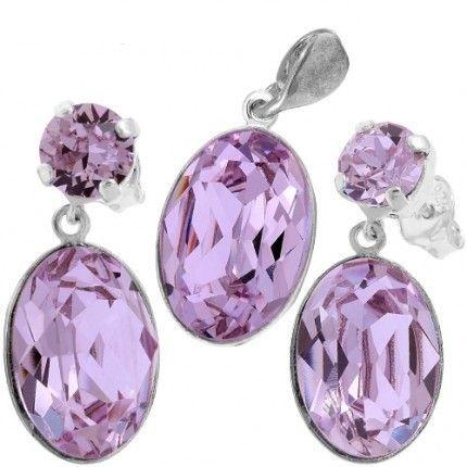 Bijuterii cu cristale violet http://www.bijuteriifrumoase.ro/cumpara/set-angelina-oval-f-29-14-14-gl-2582