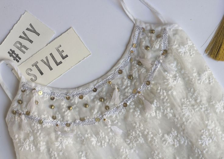 Ruby Yaya | White Celebration #details #fashion #ethnic #style #holidayseason