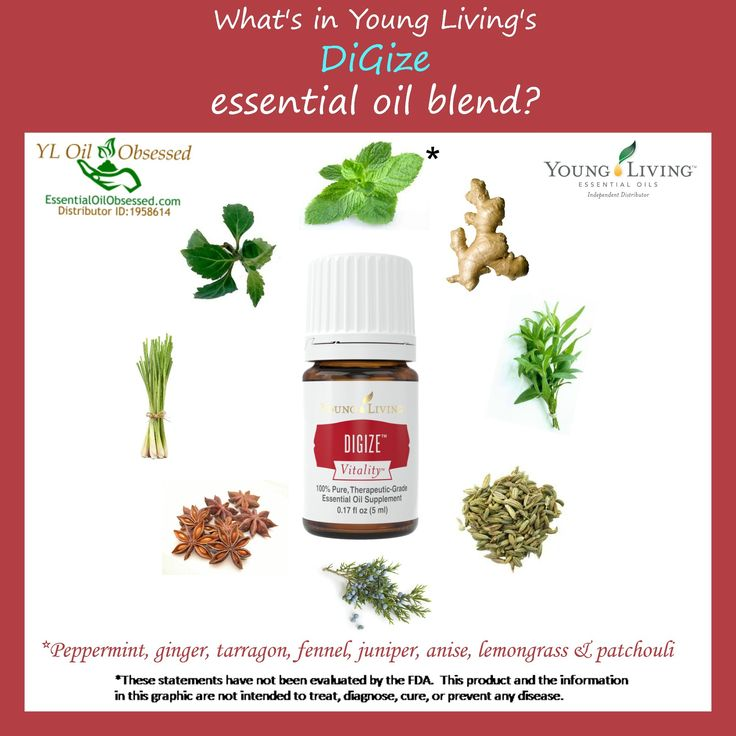 """DiGize Vitality™ essential oil blend (pronounced """"Die-jize) Digize essential oil is used aromatically and topically while Digize Vitality essential oil is a dietary oil and can therefo…"""