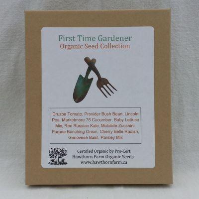First Time Gardener - Hawthorn Farm Organic Seeds