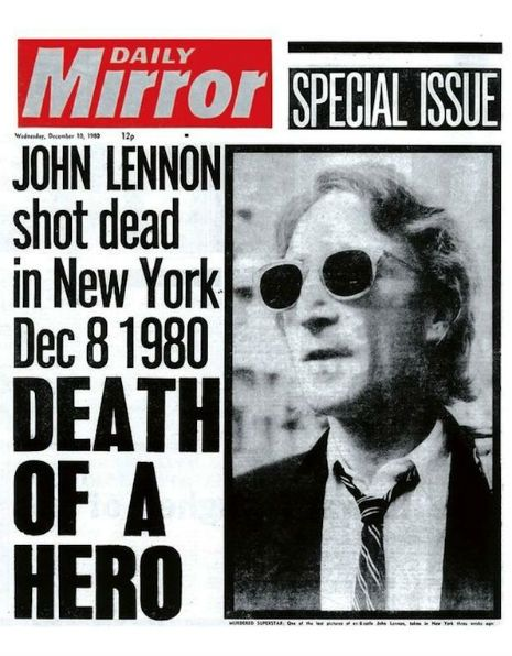 assassination of john lennon Essay Examples