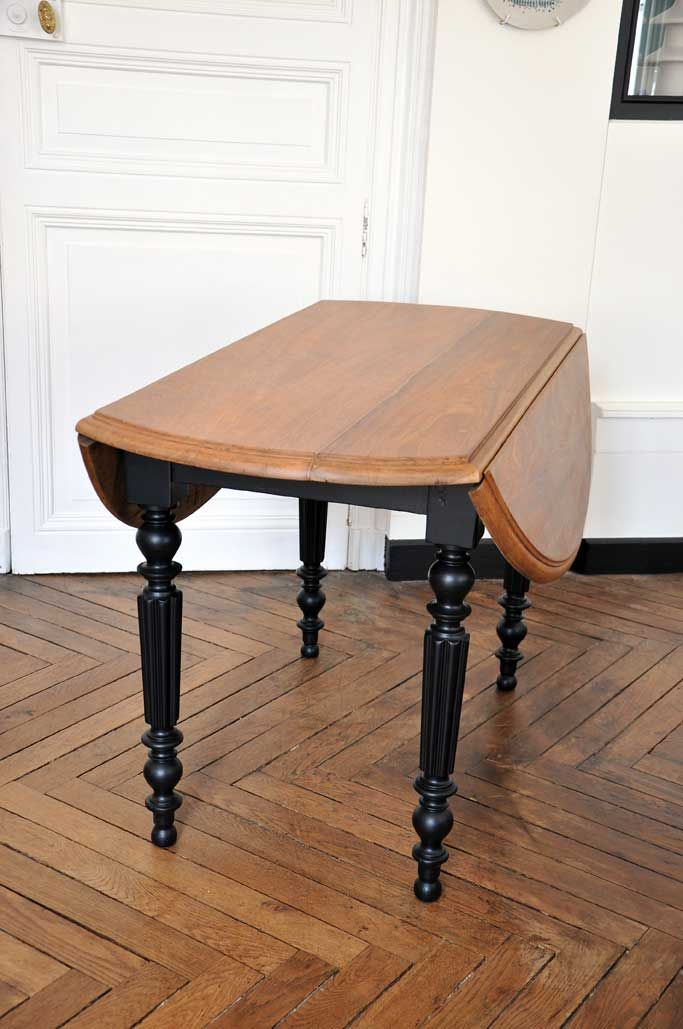 Table Ronde Ancienne Pieds Noirs