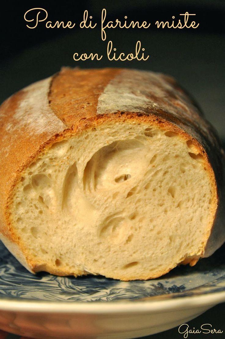 Burro e Malla: Pane di farine miste con licoli