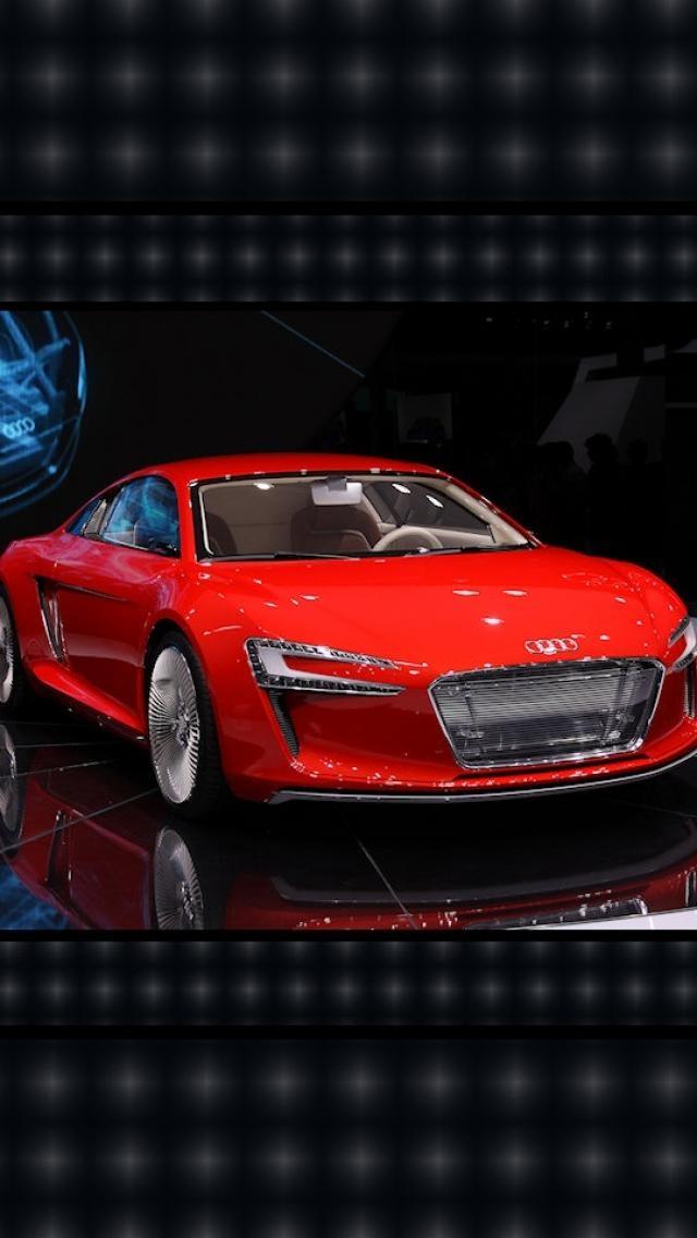 Etron Audi R8... awesome