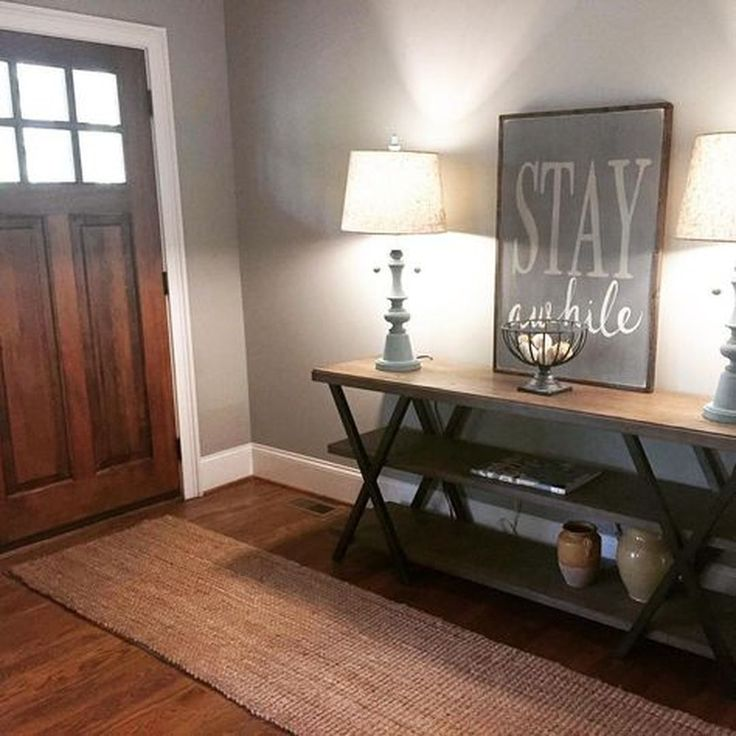 43 Beautiful Rustic Entryway Decoration Ideas: 60 Beautiful And Cool Warm Decorating Ideas