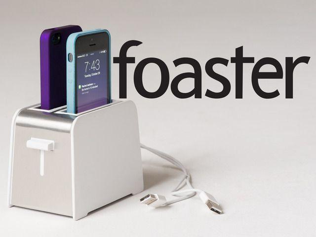 トースター型充電器
