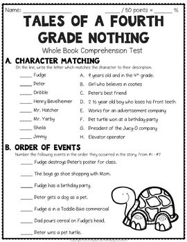 Tales of a Fourth Grade Nothing Test: Final... by HappyTeacherHappyStudents | Teachers Pay Teachers
