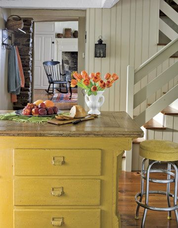 Vintage Yellow Country Kitchen 327 best kitchens / breakfast nooks images on pinterest | cottage