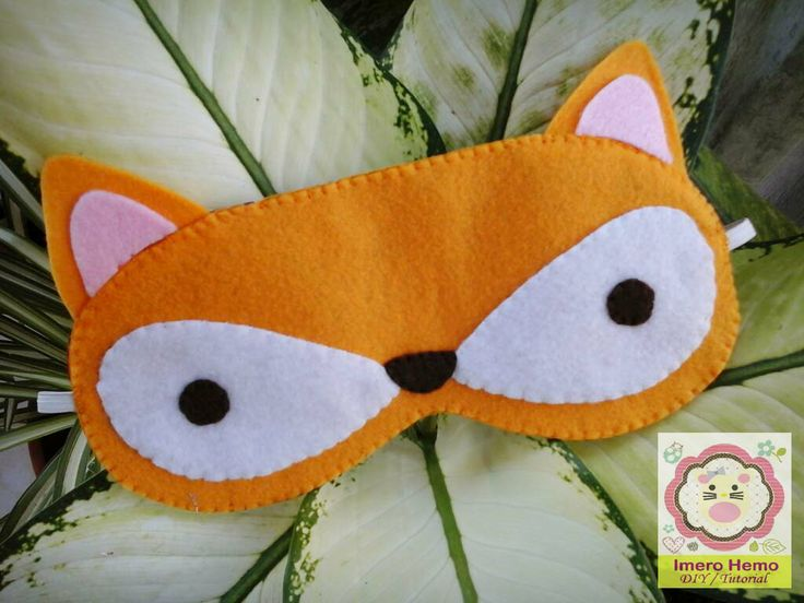 Fox Sleep Mask Tutorial in Bahasa Indonesia