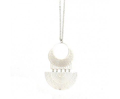 Inca Necklace (Silver)