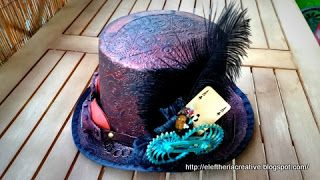 Scrapimensions: Steampunk hat