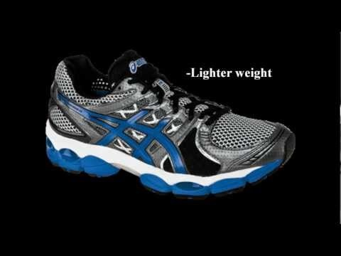 The men's ASICS GEL-Nimbus 14 road-running shoes boast an updated design  that's sleek, lightweight and breathable, with the same great ride for ...