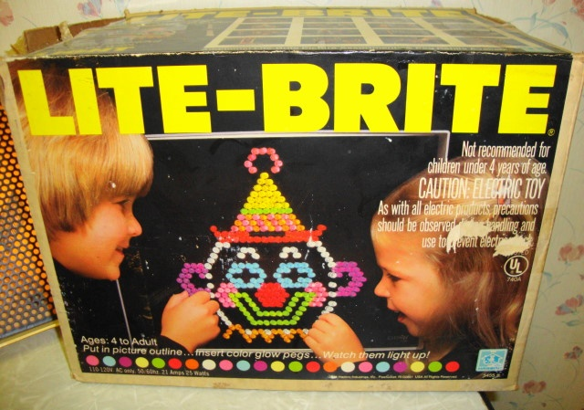 Every Christmas, I would ask for a Lite-Brite; I finally got one as a 30-year-old adult. Still love it!